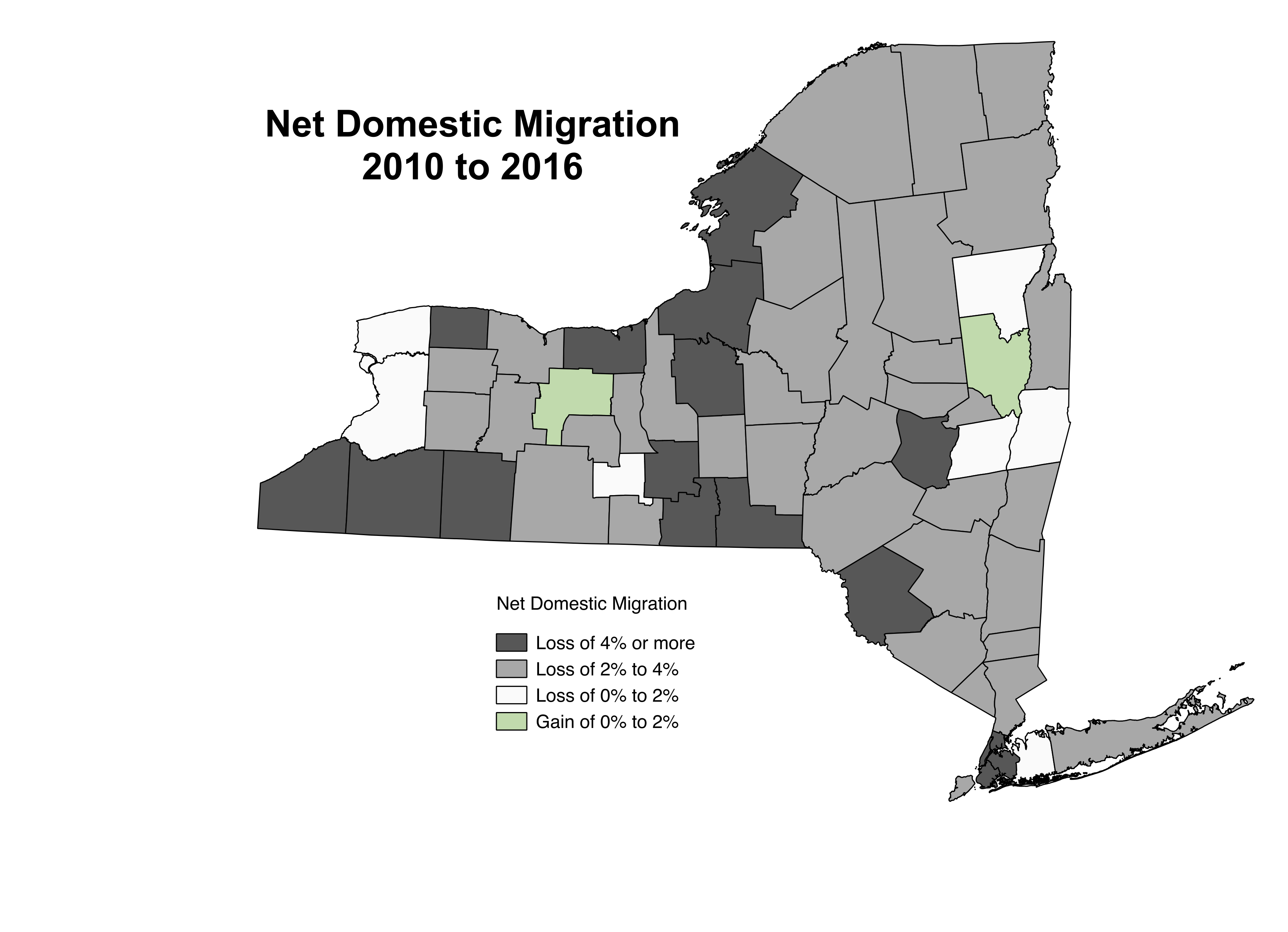ontario and saratoga have been the only counties to experience positive domestic migration meaning they attracted more new residents from the rest of the